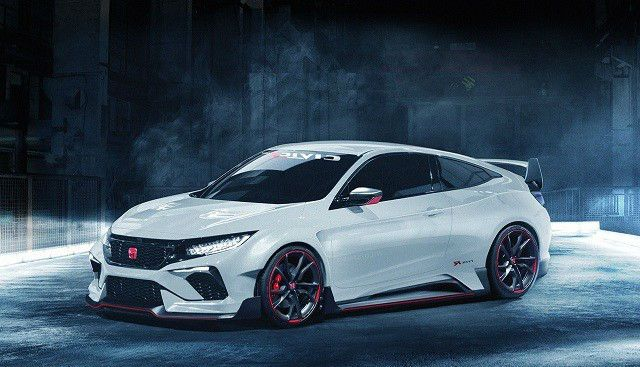 2017 Honda Civic Hatchback Type R Sedan