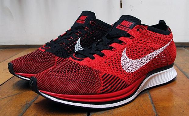 Nike Flyknit Racer RedBlack   Nike, Adidas, Models
