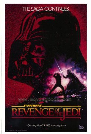 This one is a MUST HAVE, rare poster! :D Amazon.com - Revenge of the Jedi Poster Movie 27x40 - $16.48