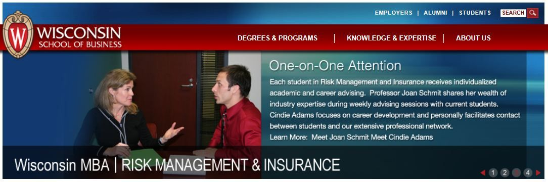 The Mba In Risk Management And Insurance Combines A Strong Core Curriculum In Fundamental Business Disciplines With