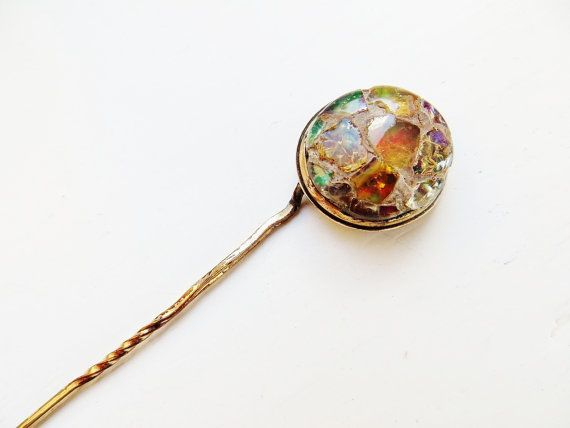 Victorian Gold Brooch Antique Opal Hat Pin Gold Filled Boulder Etsy Victorian Jewelry Victorian Gold Hat Pins