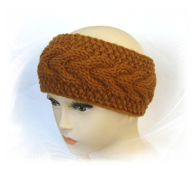 Stirnband Zopfmuster | Zopfmuster, Stirnband und Kopfbedeckungen