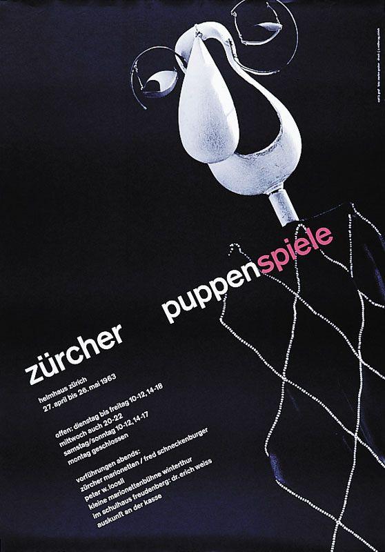 Carl B. Graf – Zürcher Puppenspiele, 1963