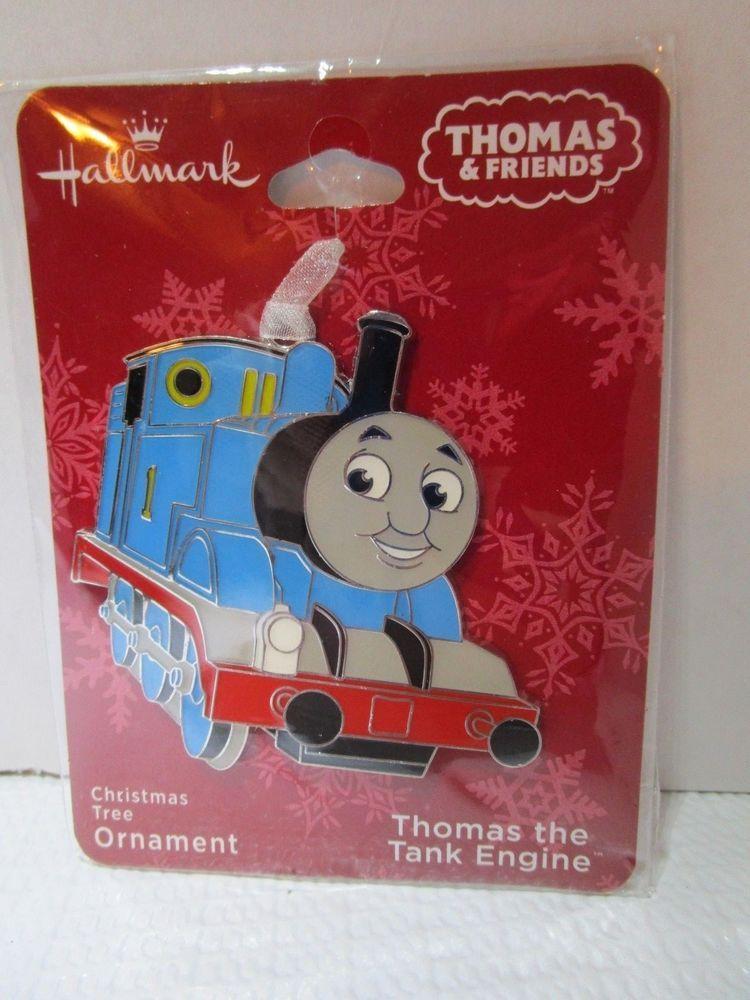 Thomas The Train Christmas Decorations  from i.pinimg.com