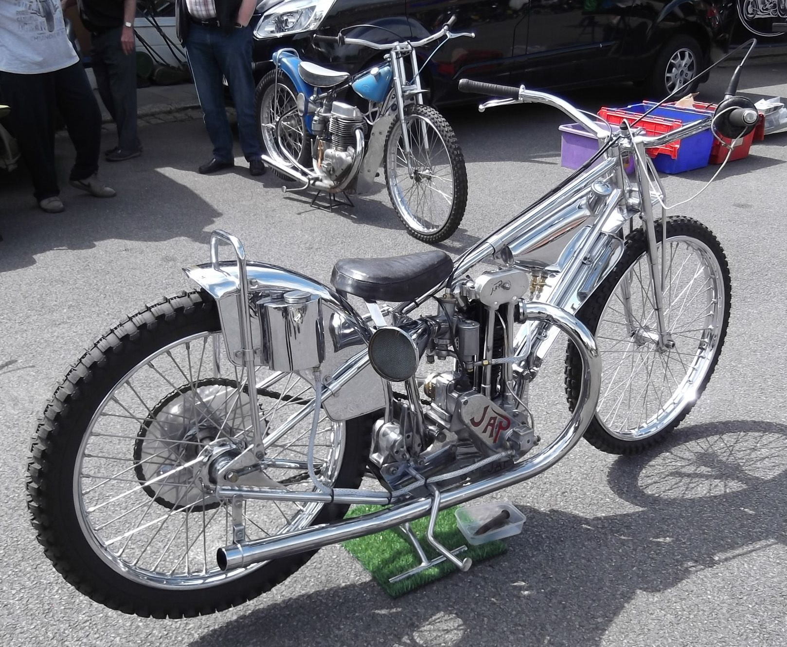 Jap Engined Speedway Bike At Whitewebbs Classic Bike Show 2016