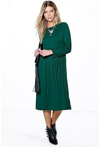 Mia Long Sleeve Midi Dress  8aa8ba2d1b39
