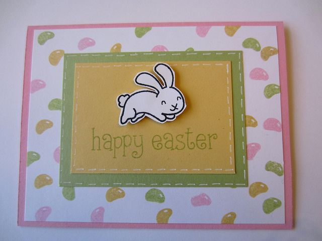 Lawn Fawn - Happy Easter _ simply cute card by Sandy! Flickr - Photo Sharing!