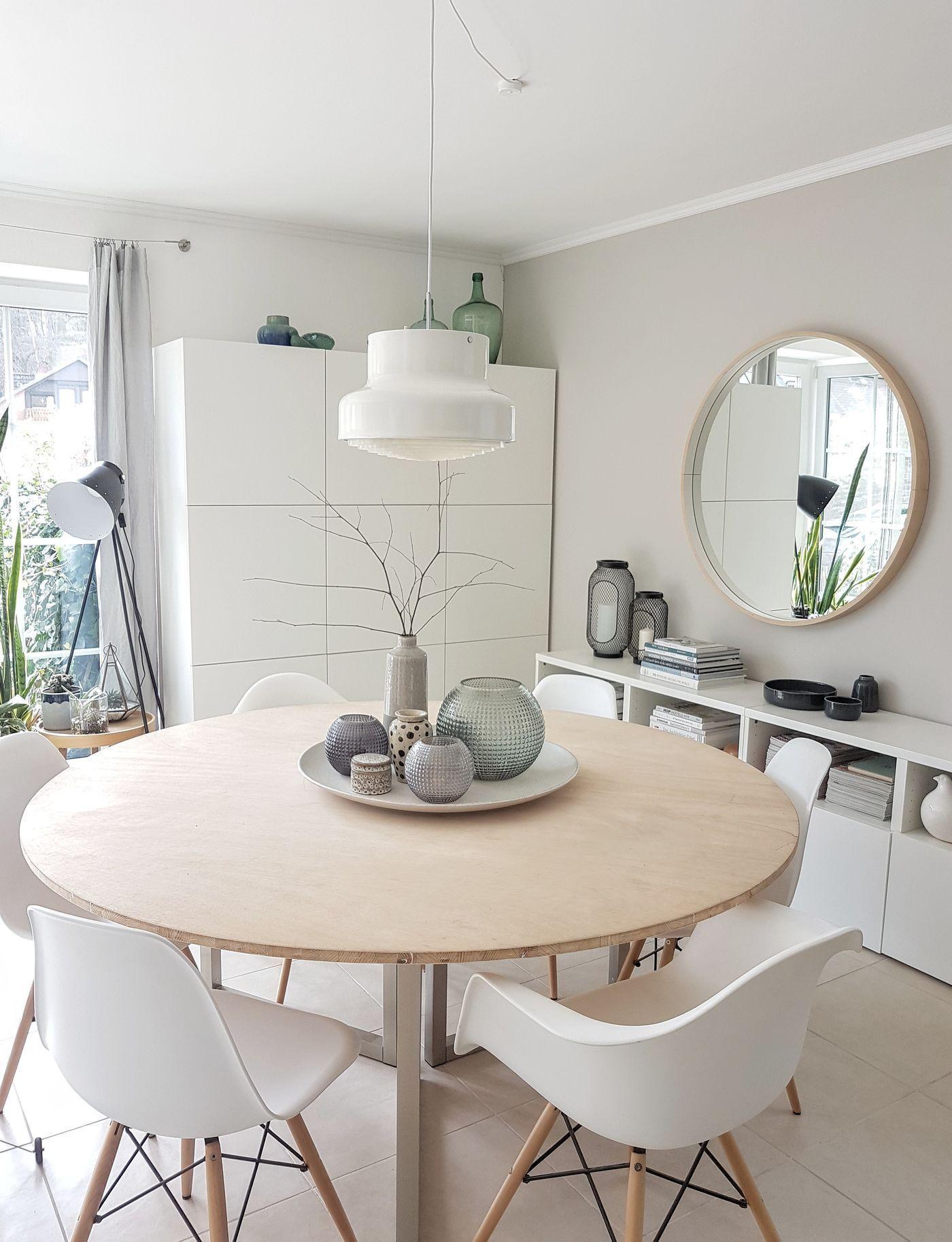 Kuche Die Schonsten Ideen Mit Dem Ikea Besta System In 2020 Kuchentisch Rund Einrichtungsideen Wohnzimmer Esszimmer Wohnzimmer Ideen Gemutlich