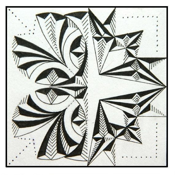 PDF Digital Download Album with Hand Drawn Chip Carving Patterns ...