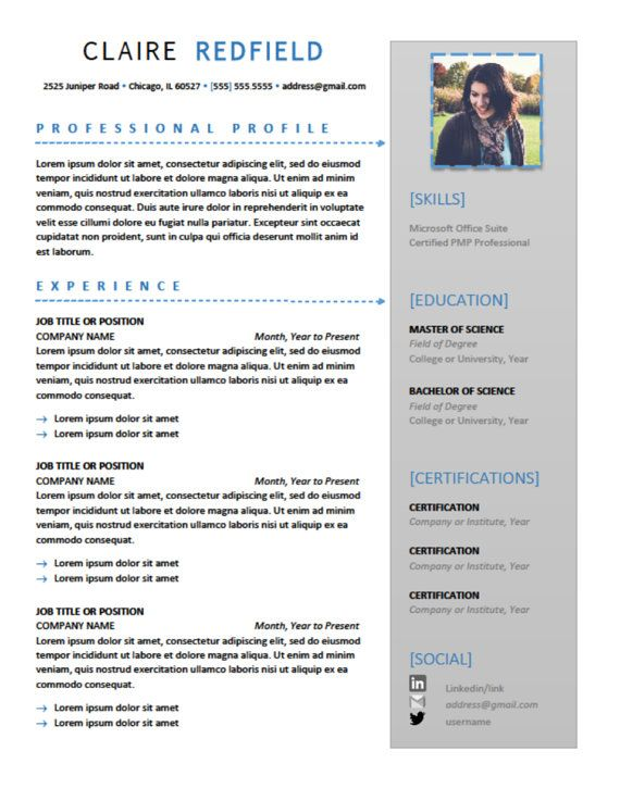 CUTE resume ideas too good not to steal! #resume Design - pretty resume template