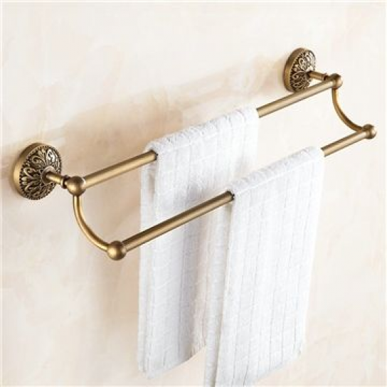 Photo of Towel Rack for Bathroom Copper Brushed Finish Retro Towel Bar #bathroomfixtures …