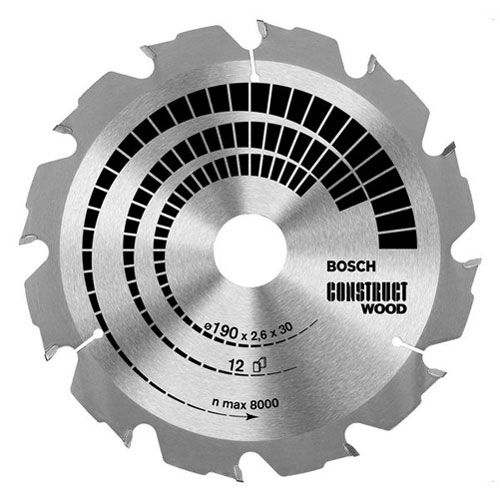 Bosch Construct Wood Cutting Saw Blade 235mm 16T 30mm: The Construct Wood is ideal for coarse… #Tools #HandTools #PowerTools #GardenTools