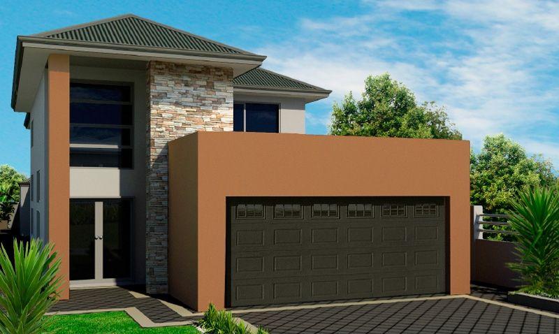 2 Storey House Plan for Narrow Block, Perth, Rosmond Homes ...