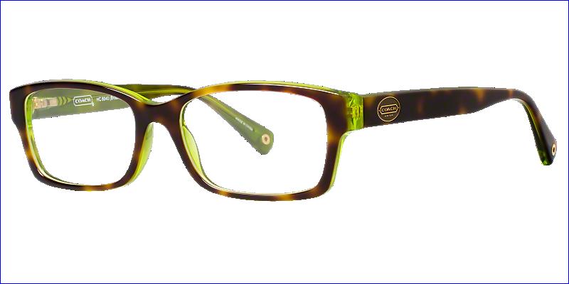 HC6040: Shop Coach Rectangle Eyeglasses at LensCrafters | Clothes ...