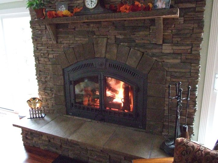 Great Napoleon Built In High Efficiency Fireplace