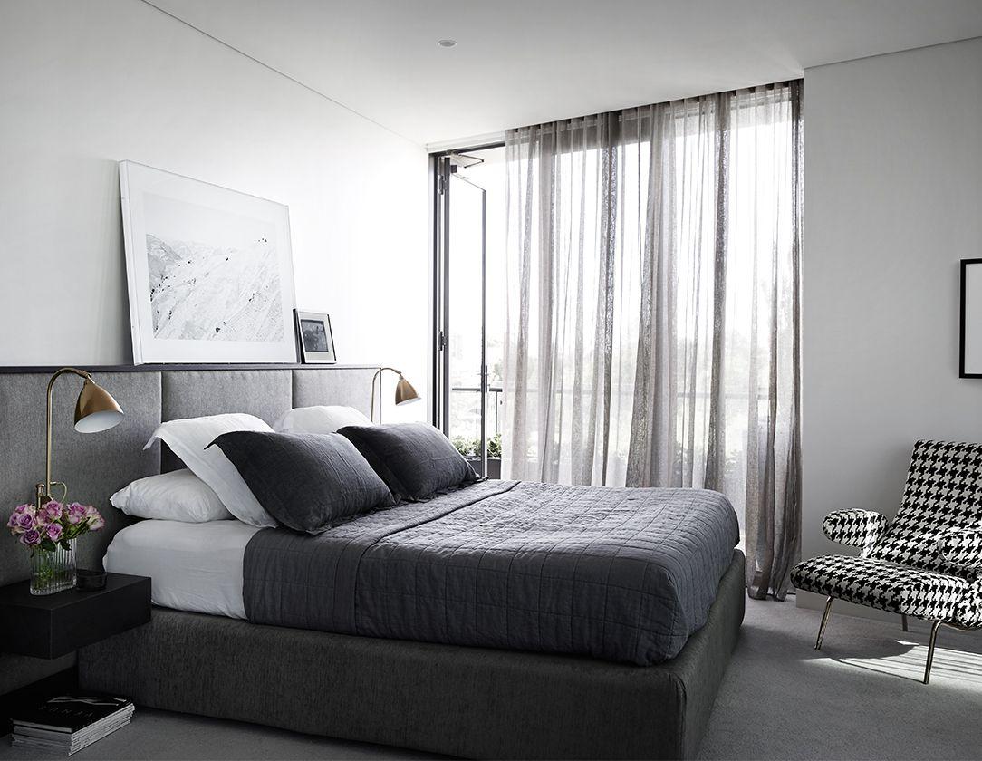 Melburnian I Melbourne Glam bedroom decor chic