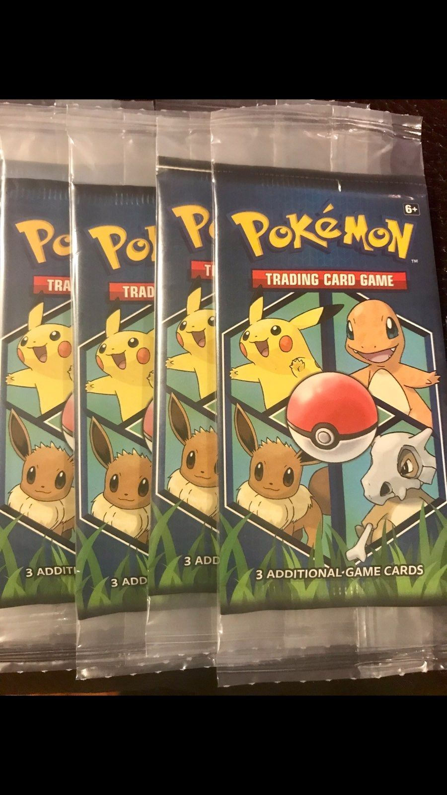 20 sealed packs each pack comes with 3 cards one of them