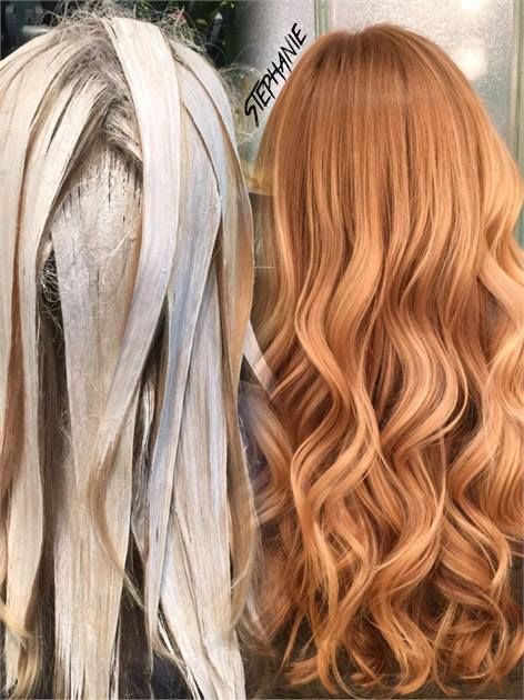 Balayage for strawberry blonde career strawberry blonde balayage and salons - Les differents blonds ...