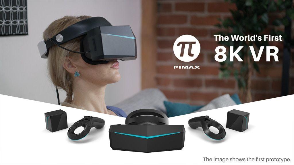 Pimax 8k Kickstarter Not Yet Live Vr Headset Virtual Reality