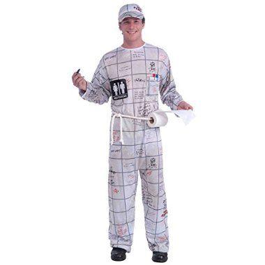 Order now Forum Novelties Men\u0027s Bathroom Wall Guy Costume, Multi - ridiculous halloween costume ideas