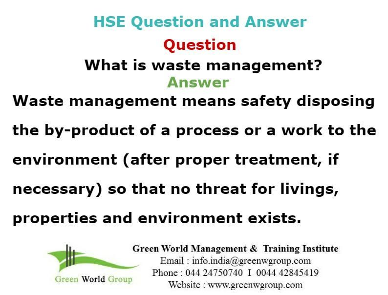 Safety officer question and answer | Nebosh exam questions