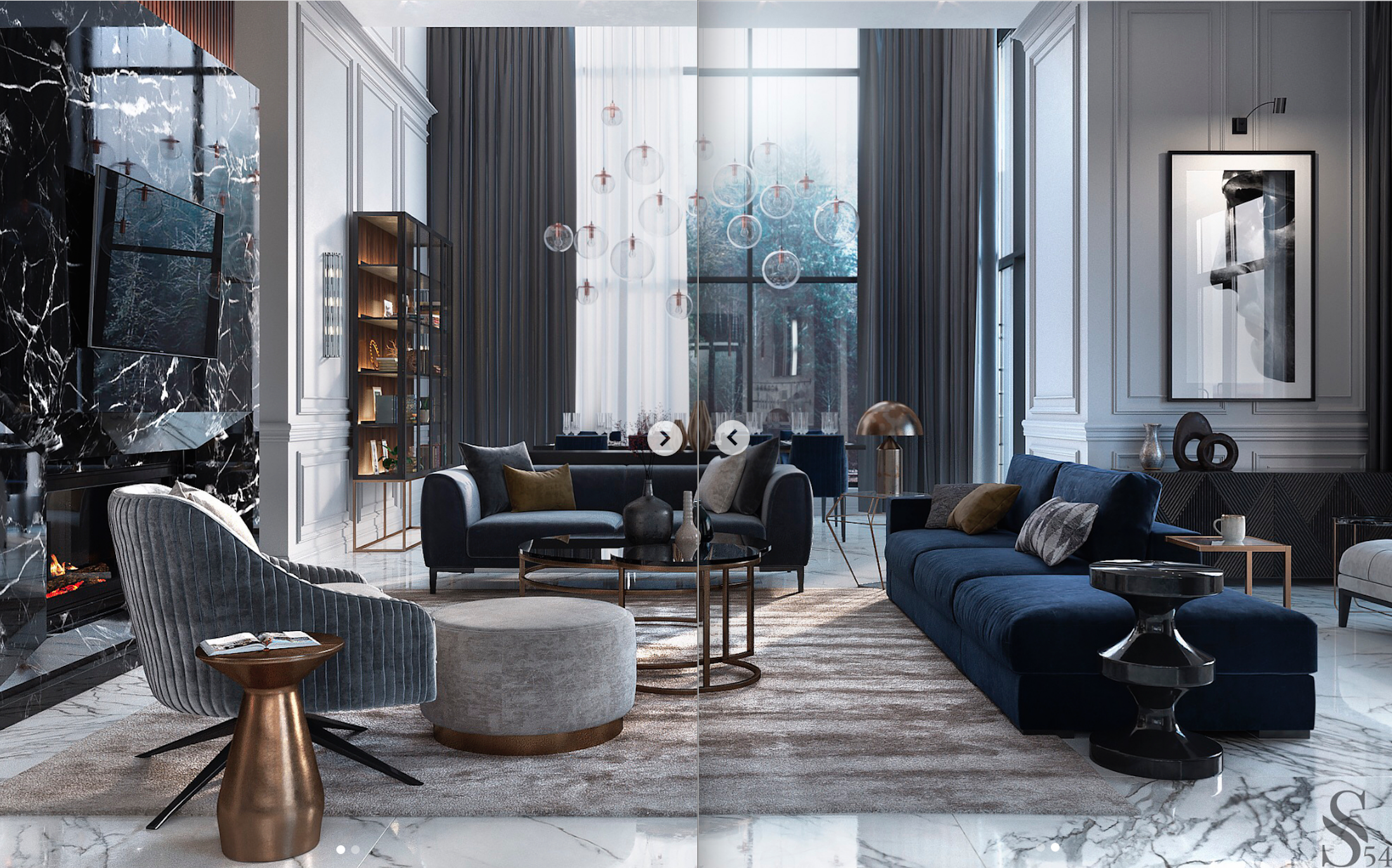 Coolest Mid Century Lighting Designs For Uk Www Delightfull Eu Visit Us For Interior Design Modern Houses Interior Luxury Living Room Stylish Living Room