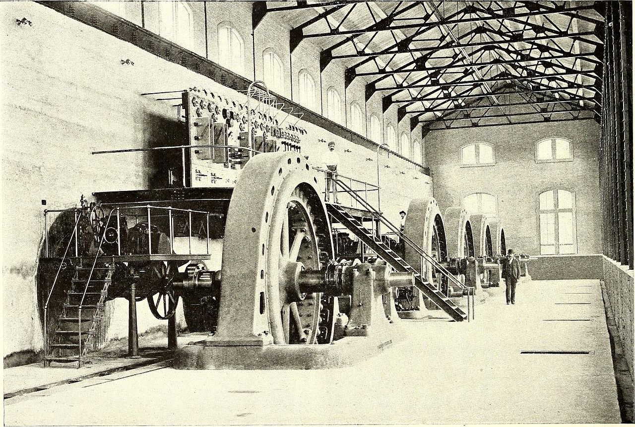 Mechanicville Hydroelectric Plant in Rensselaer County, New York.