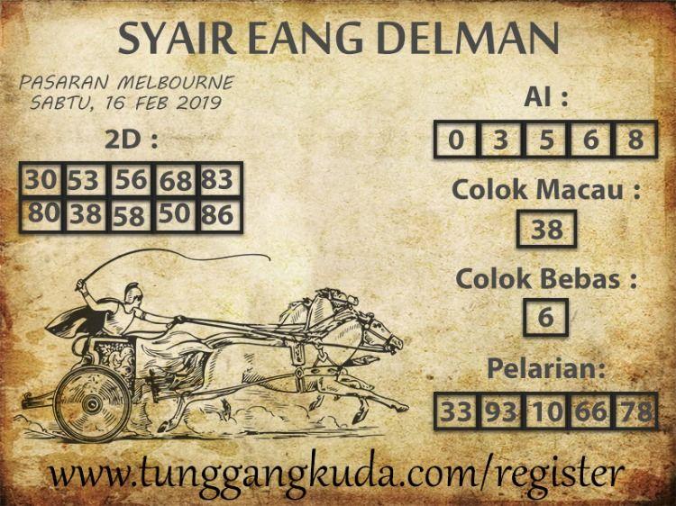 Syair eang delman sgp
