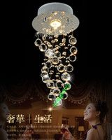 free shipping modern Crystal Chandeliers LED Crystal lightin...