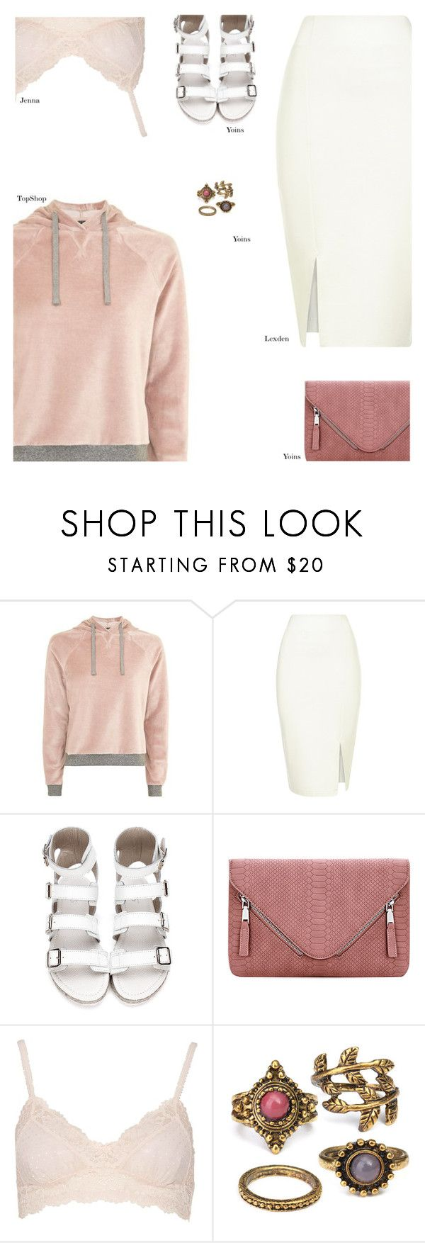 """YOINS"" by s-thinks ❤ liked on Polyvore featuring Topshop, ootd, yoins, yoinscollection and loveyoins"