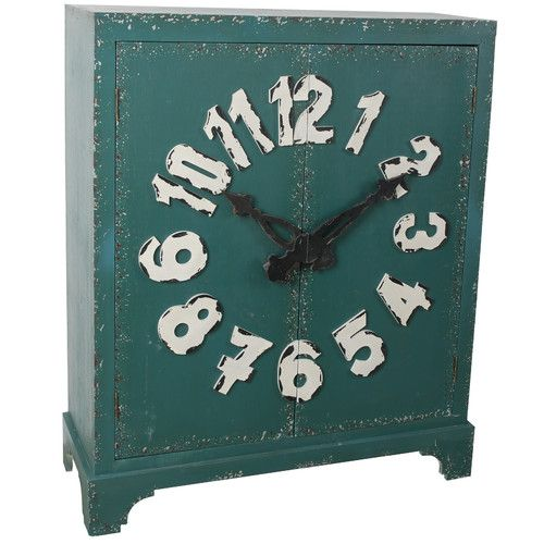 Found it at Wayfair.ca - Cabinet with Clock