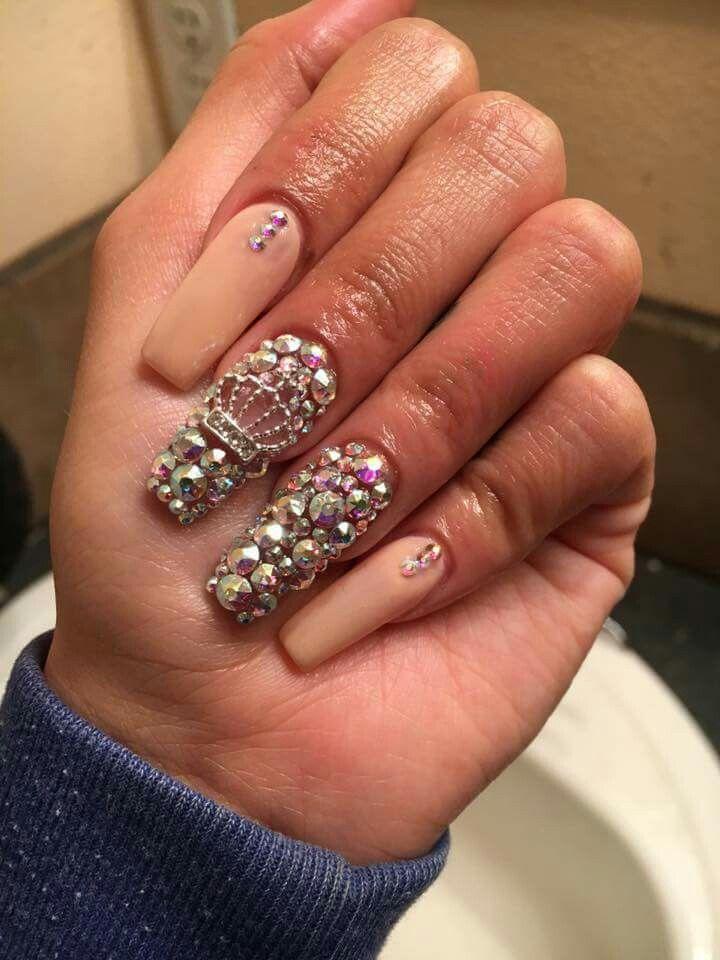 Mimosidade de unhas | Trendy nail art designs, Stylish