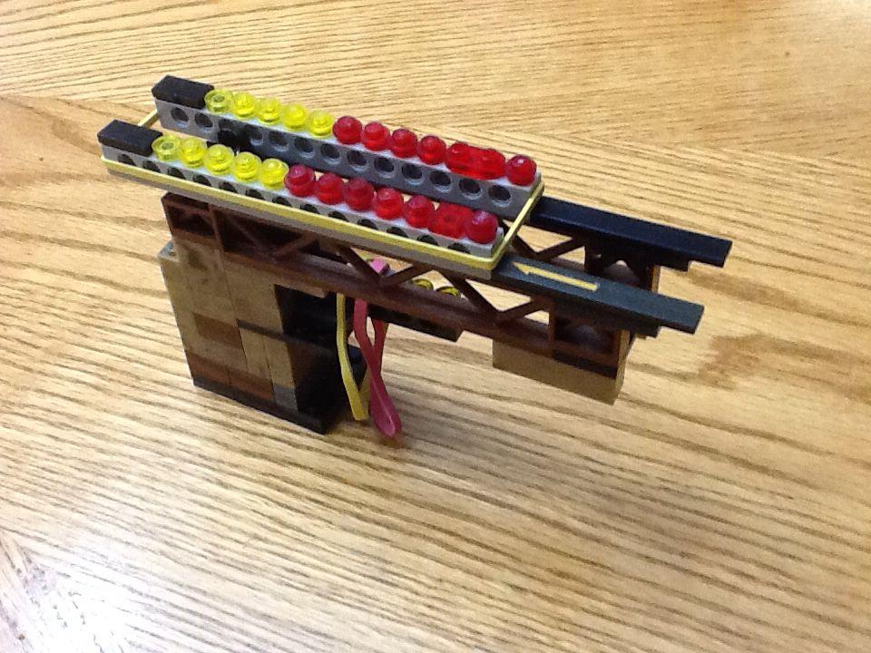Lego rubber band shooter | Noah's Lego Creations | Pinterest ...
