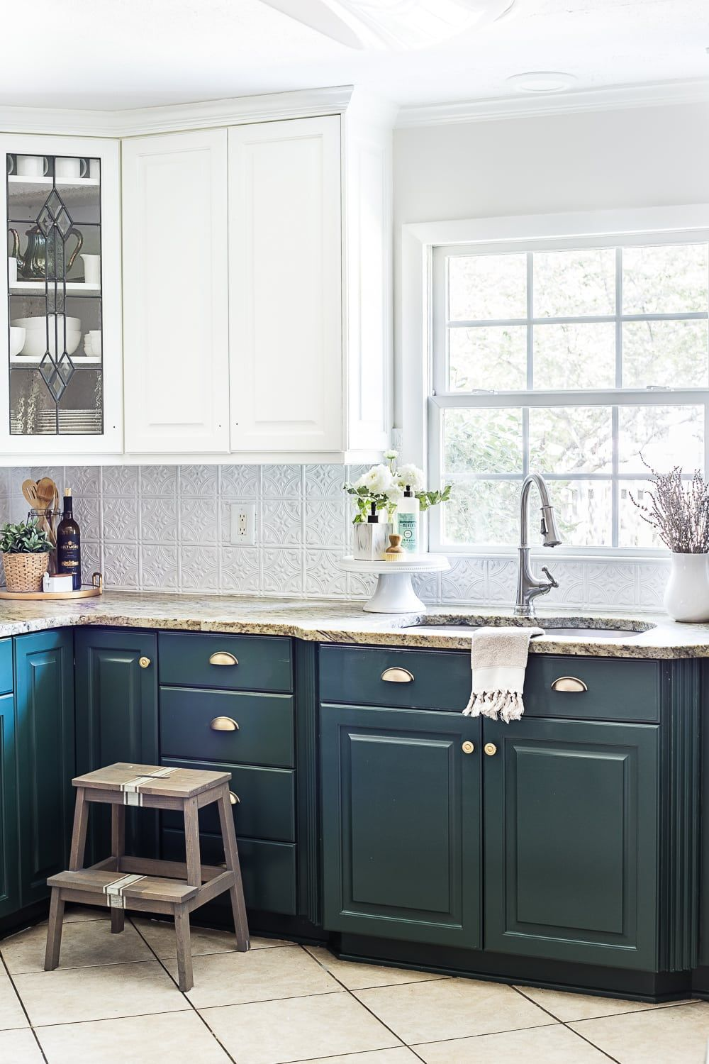 How To Update Kitchen Cabinets Green Kitchen Cabinet Update Kitchen Pinterest Green Kitchen
