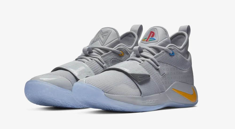 2018 Nike PG 2 Paul George White Blue Orange | Zapatos
