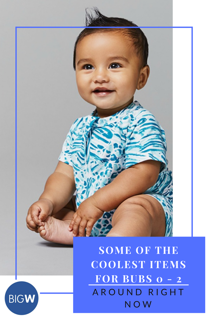 Check out the latest from BigW - here are our favourite items for little bubs aged 0-2 from their new baby and kids catalogue! Honestly, it's the best place to go for everything you need for your little ones.
