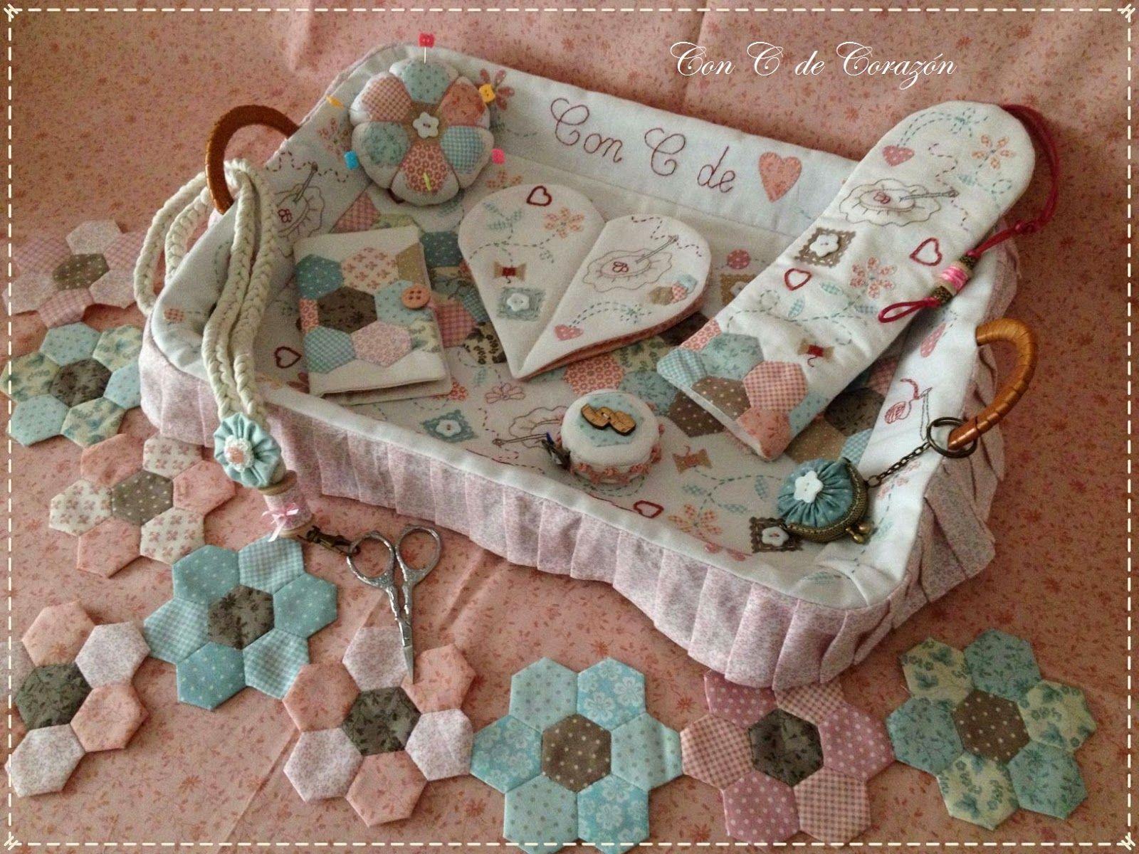 Set de costura accesorios de costura pinterest patchwork sewing accessories and english - Set de costura ...