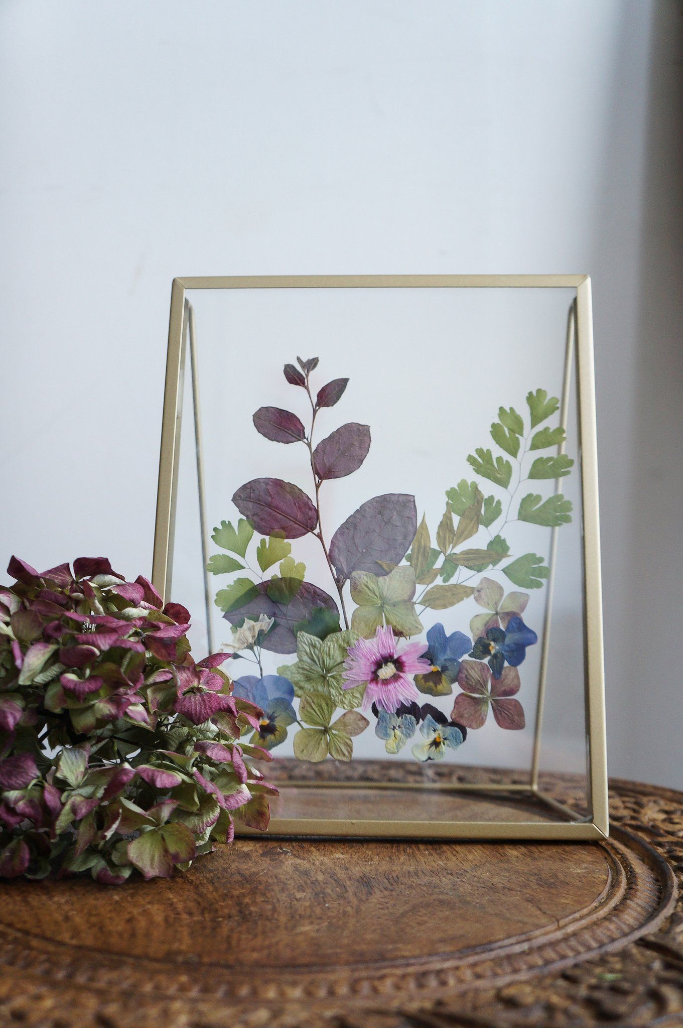 Die Kunst, Blumen zu pressen