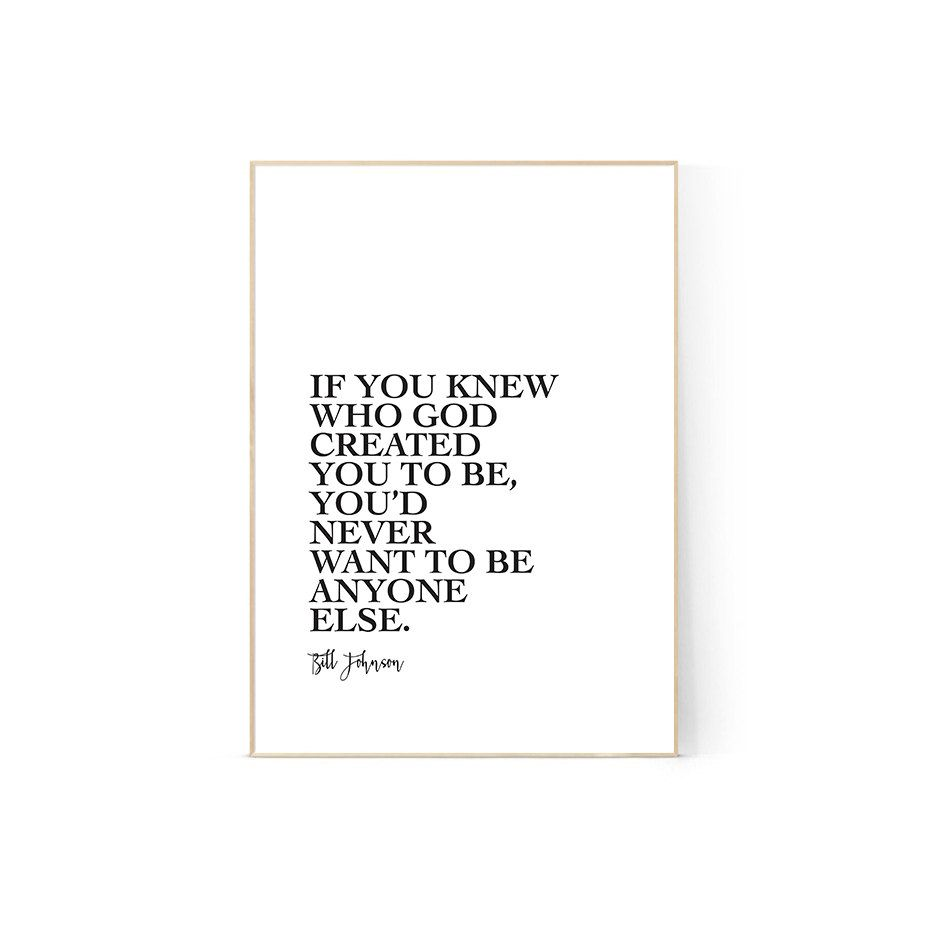 Graphic design poster quotes - Bill Johnson Quote Printable Wall Art A4 Bethel Christian Print Graphic Design Poster