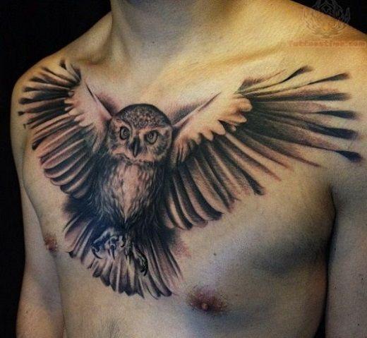 Owl Tattoo Ideas Realistic Owl Tattoo Owl Tattoo Mens Owl Tattoo