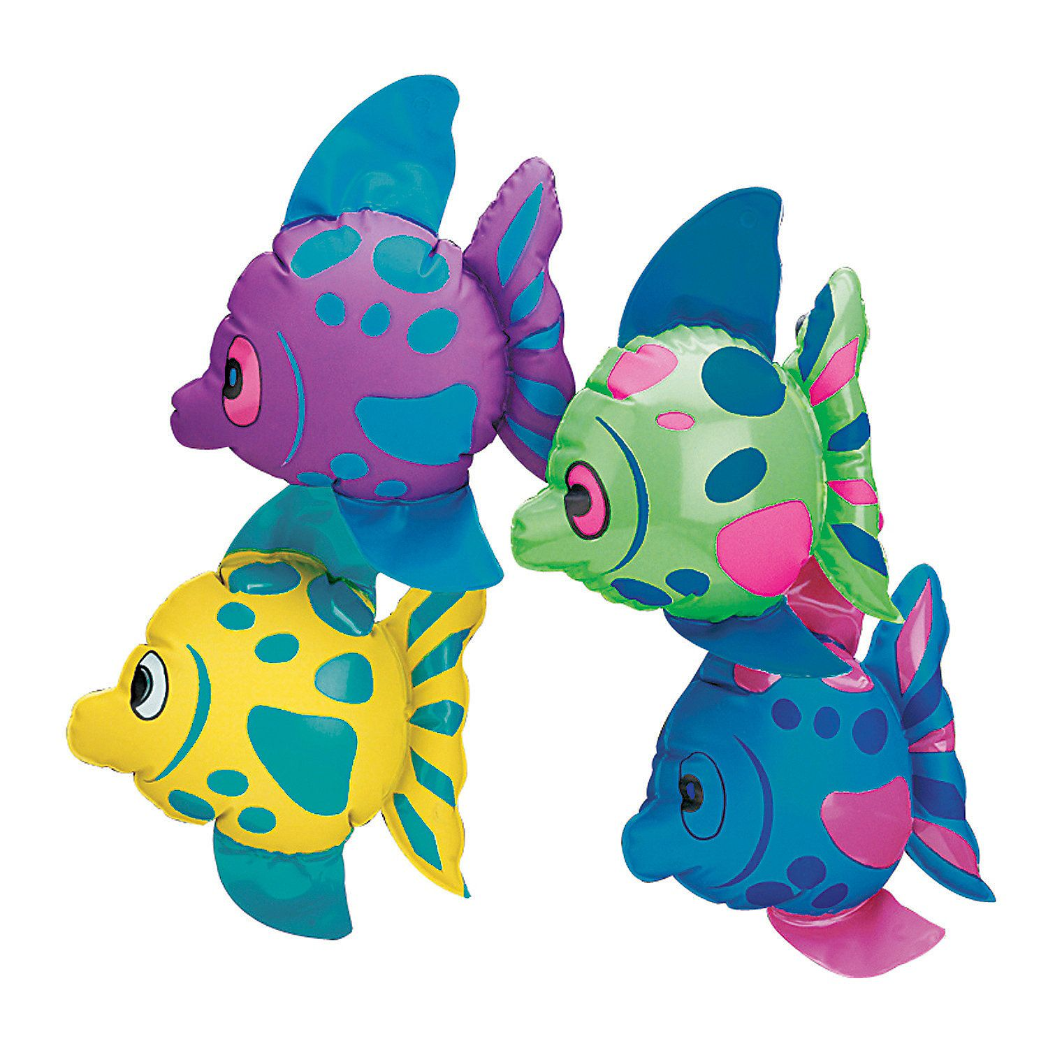Inflatable Tropical Fish ASSORTED COLOUR
