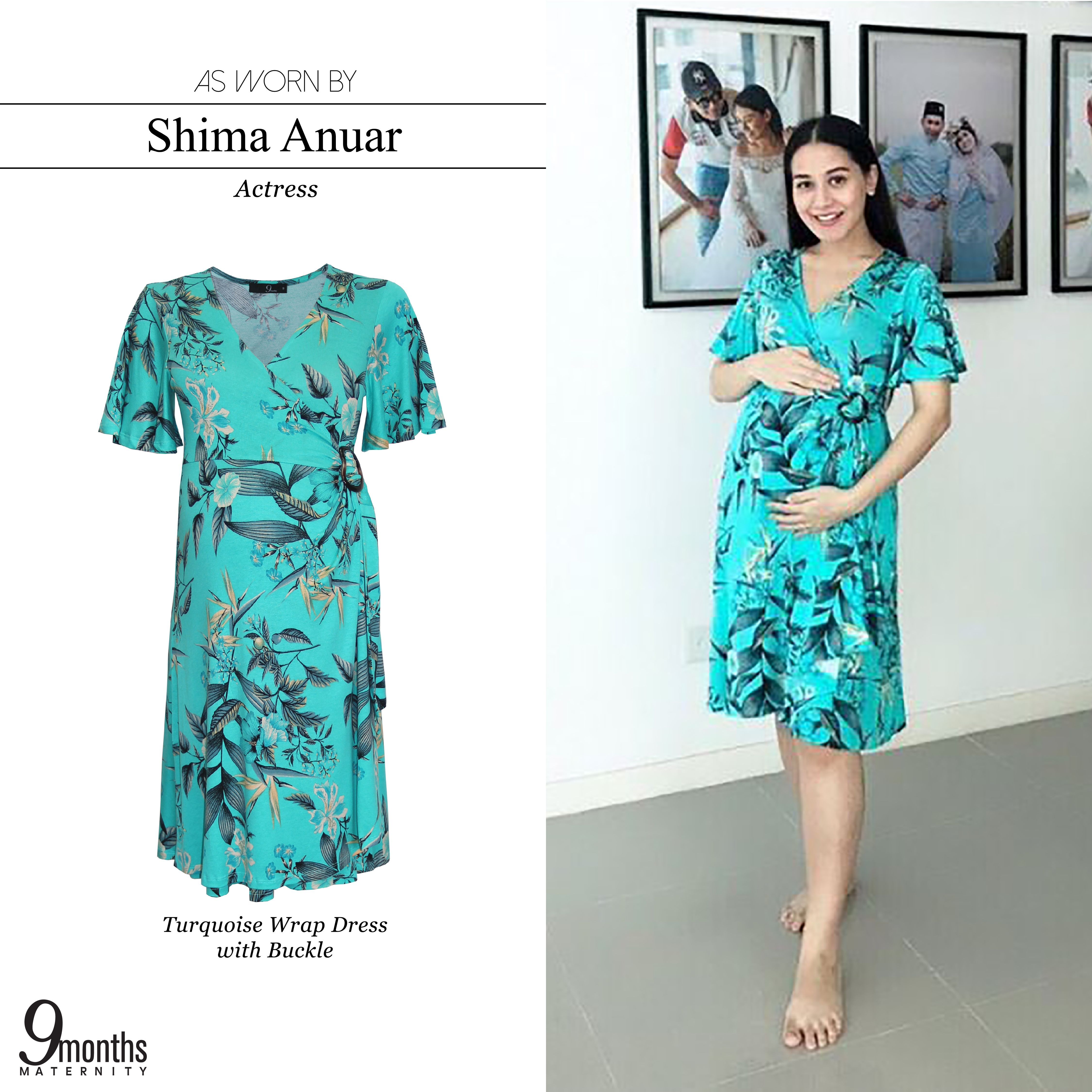 Flatter Your Blossoming Bump In Our Gorgeous Floral Nursing Wrap Dress 9monthsmaternity Maternityfashion Ma Turquoise Wrap Dress Nursing Dress Dresses [ 4500 x 4500 Pixel ]
