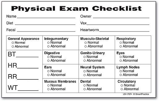 Physical Exam Form Template In 2020 Exam Physics Sample Resume