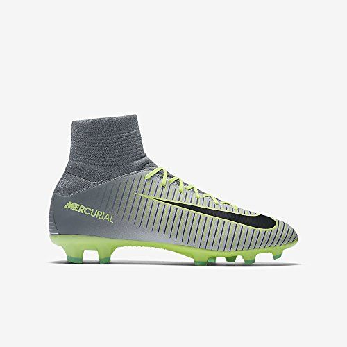 6accf3221962 Nike Youth Mercurial Superfly V Firm Ground Cleats Pure Platinum 45Y     Check this awesome