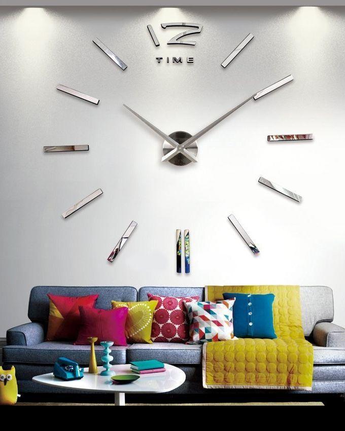 Ft2m horloge murale design silver acheter en ligne jumia maroc