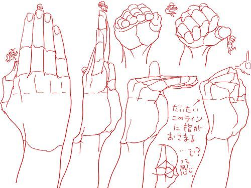 Drawing Art Hands Draw Finger Hand Human Anatomy Different