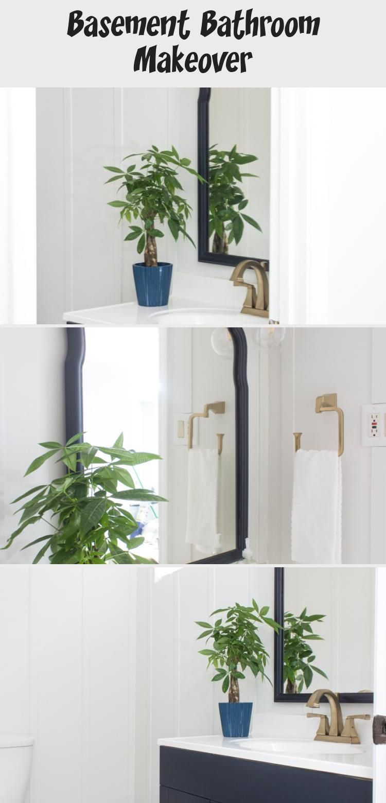 Photo of Basement Bathroom Makeover – Home Decoration  A basement bathroom update with a …