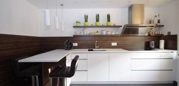 Einbauküche Home Küche   Kitchen Pinterest - küchen mit sitzgelegenheit