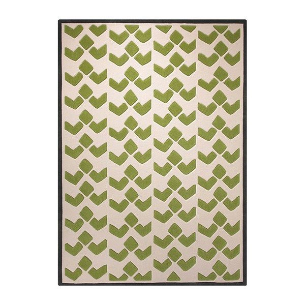Esprit Home Bauhaus Rug In Green Free Uk Delivery The Er