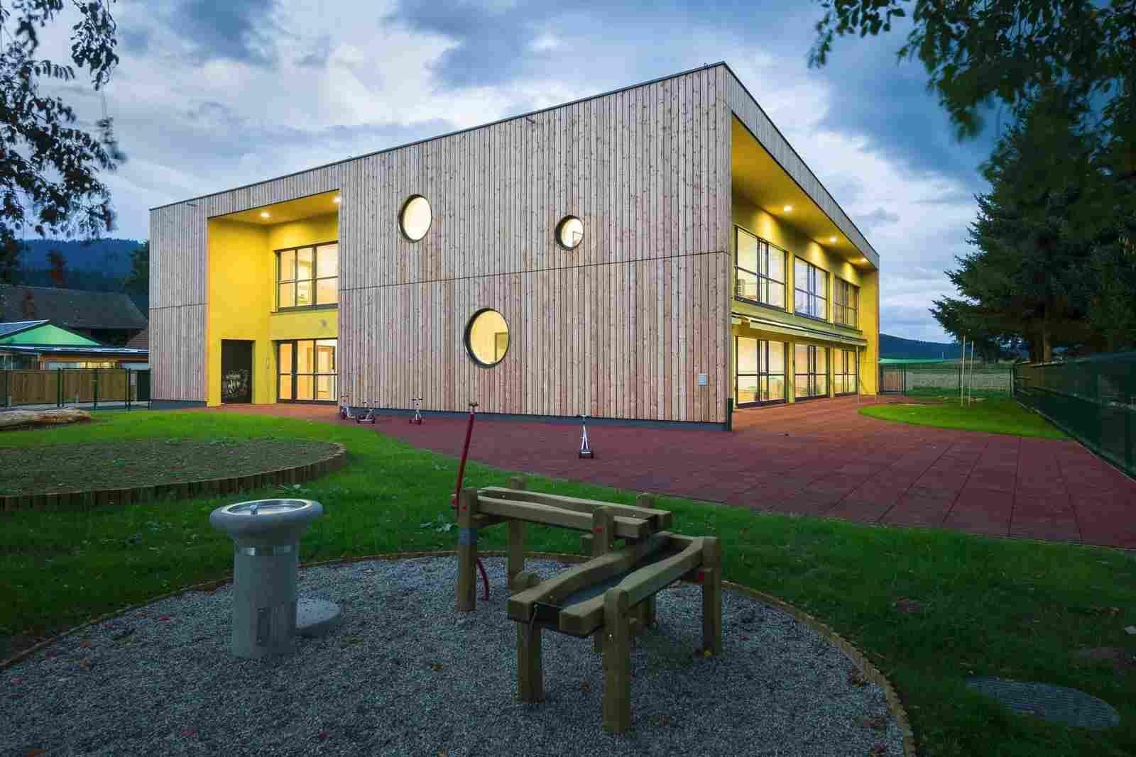 Проект современного детского сада в Словении   Детский сад ...